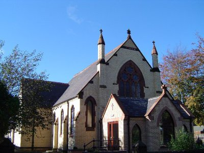 Photograph of Frodsham Methodist building