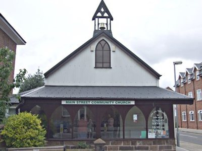 Photograph of the Main Street Community Church building